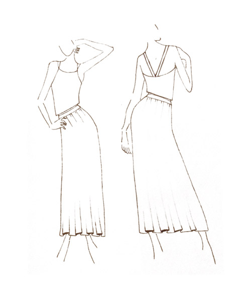 Sketch - Fashion design Pourkwa Pa
